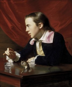 John Singleton Copley's A Boy with a Flying Squirrel, 1765