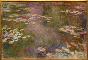 Claude Monet, Water Lily Pond, 1917-22