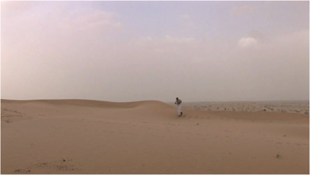 "Still from Michela Occhipinti's ""Letters from the Desert"""