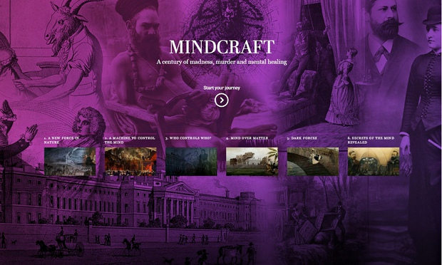 "The starting point of the Wellcome Collection's ""Mindcraft"" story-telling experience, a virtual means of engaging the museum's audience with its collection."