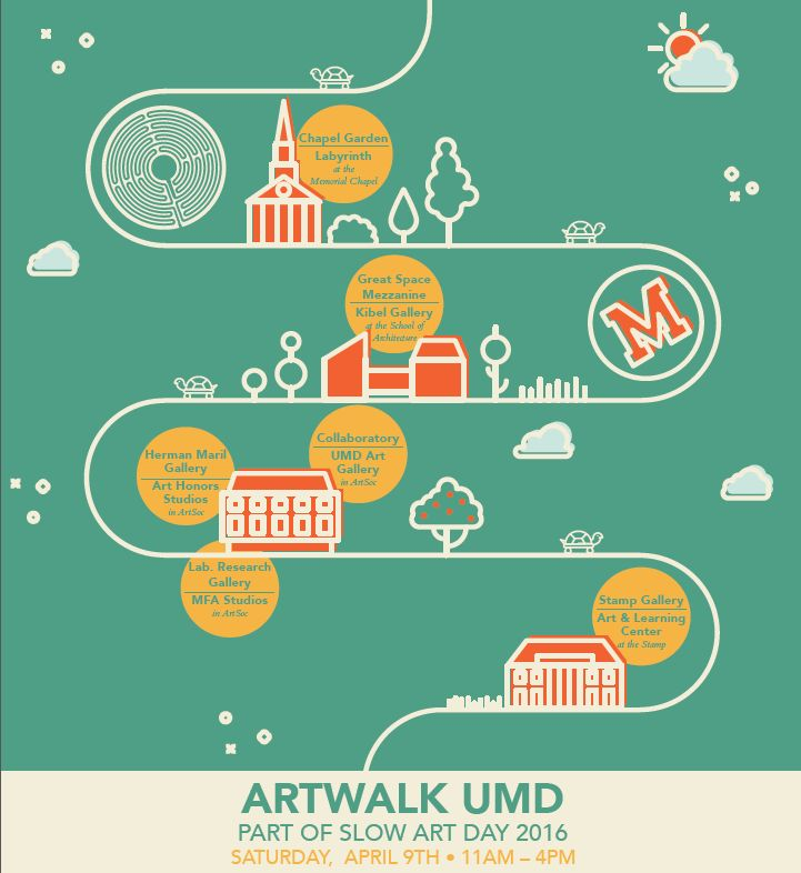 A Slow Art Stroll at UMD | Slow Art Day