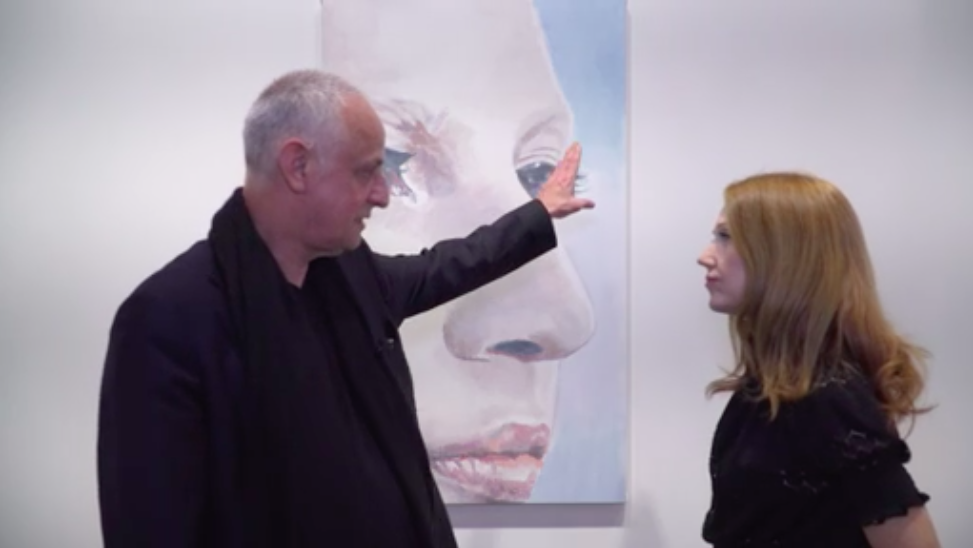 "Belgian artist Luc Tuymans in the BBC ""How to Look at Art"" video."