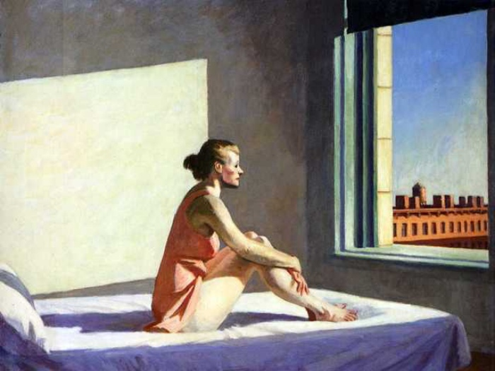 Edward Hopper, Morning Sun, 1952, Columbus Museum of Art